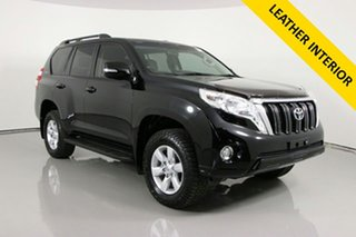 2017 Toyota Landcruiser Prado GDJ150R MY16 GXL (4x4) Black 6 Speed Automatic Wagon.