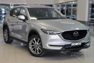 2021 Mazda CX-5 KF4W2A Akera SKYACTIV-Drive i-ACTIV AWD Silver 6 Speed Sports Automatic Wagon.