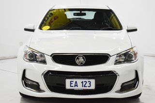 2016 Holden Commodore VF II MY16 SV6 Sportwagon White 6 Speed Sports Automatic Wagon.