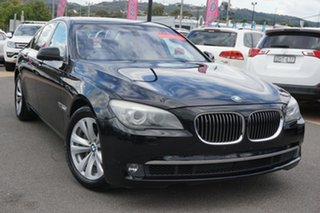 2009 BMW 7 Series F01 740i Steptronic Black 6 Speed Sports Automatic Sedan.
