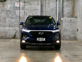 2018 Hyundai Santa Fe TM MY19 Active Blue 8 Speed Sports Automatic Wagon.