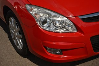 2009 Hyundai i30 FD MY09 SLX Red 4 Speed Automatic Hatchback
