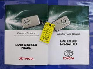2016 Toyota Landcruiser Prado GDJ150R MY16 GXL (4x4) SILVE3R 6 Speed Automatic Wagon