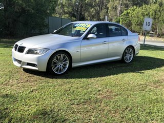 2008 BMW 3 Series E90 MY09 335i Steptronic Silver 6 Speed Sports Automatic Sedan.