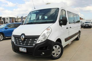 2017 Renault Master X62 Mid Roof LWB AMT White 6 Speed Sports Automatic Single Clutch Bus.