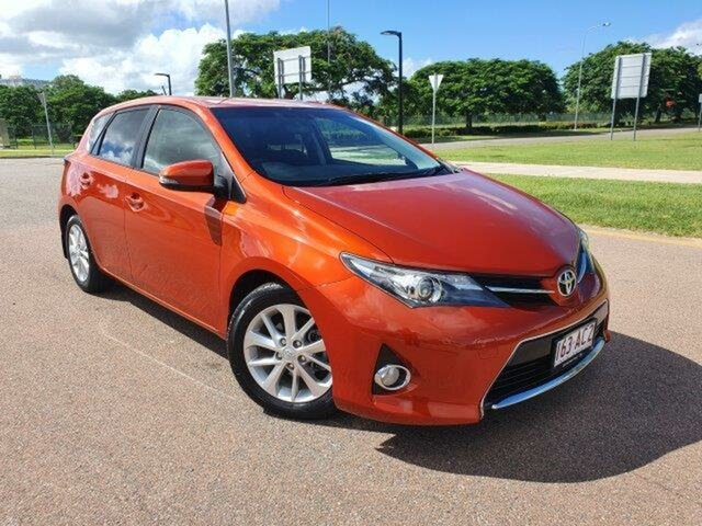 Used Toyota Corolla ZRE182R Ascent Sport S-CVT Townsville, 2014 Toyota Corolla ZRE182R Ascent Sport S-CVT Inferno 7 Speed Constant Variable Hatchback