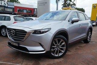 2017 Mazda CX-9 MY16 GT (FWD) Silver 6 Speed Automatic Wagon.