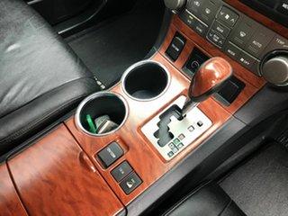 2010 Toyota Kluger GSU40R Grande 2WD Grey 5 Speed Sports Automatic Wagon