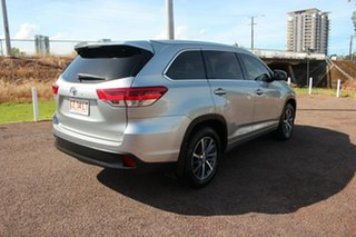 2017 Toyota Kluger GSU55R GXL AWD Silver 8 Speed Sports Automatic Wagon