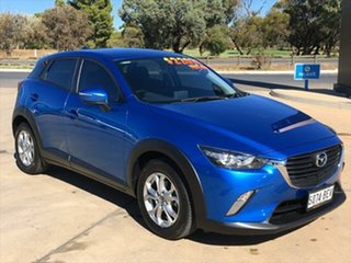 2015 Mazda CX-3 DK2W7A Maxx SKYACTIV-Drive Dynamic Blue 6 Speed Sports Automatic Wagon.