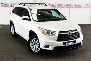 2016 Toyota Kluger GSU55R GX AWD Crystal Pearl 6 Speed Sports Automatic Wagon.
