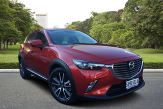 2016 Mazda CX-3 DK4W7A Akari SKYACTIV-Drive i-ACTIV AWD Red 6 Speed Sports Automatic Wagon.