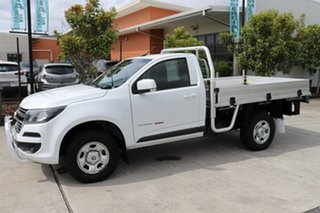 2018 Holden Colorado RG MY18 LS White 6 speed Manual Cab Chassis