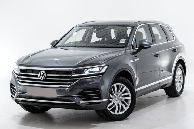 Used Volkswagen Touareg CR MY20 190TDI Tiptronic 4MOTION Berwick, 2020 Volkswagen Touareg CR MY20 190TDI Tiptronic 4MOTION Grey 8 Speed Sports Automatic Wagon