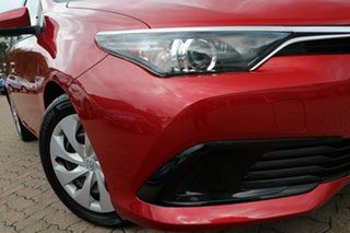 2015 Toyota Corolla ZRE182R MY15 Ascent Red 7 Speed CVT Auto Sequential Hatchback.