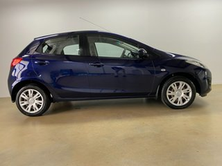2012 Mazda 2 DE MY12 Neo Blue 4 Speed Automatic Hatchback