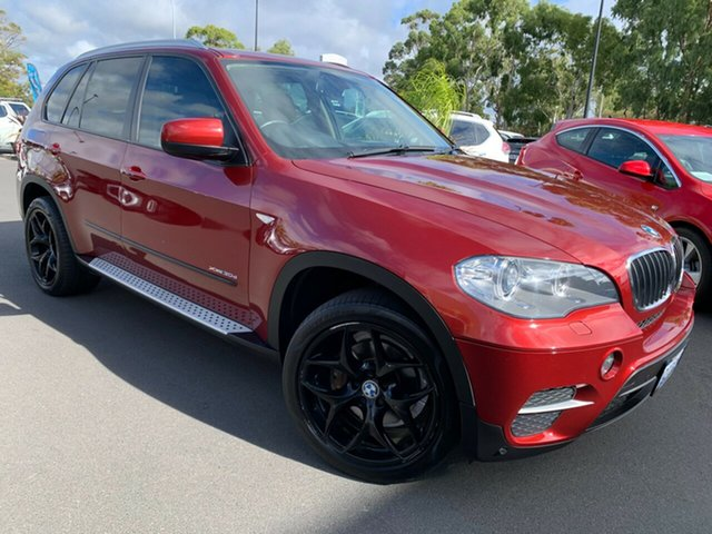 Used BMW X5 E70 MY12.5 xDrive30d Steptronic Bunbury, 2012 BMW X5 E70 MY12.5 xDrive30d Steptronic Maroon 8 Speed Sports Automatic Wagon