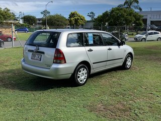 2003 Toyota Corolla ZZE122R Ascent Silver 4 Speed Automatic Wagon