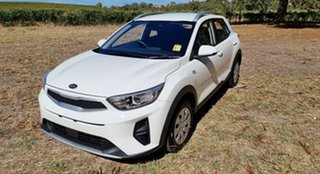 2021 Kia Stonic YB MY21 S FWD Clear White 6 Speed 6AT Wagon