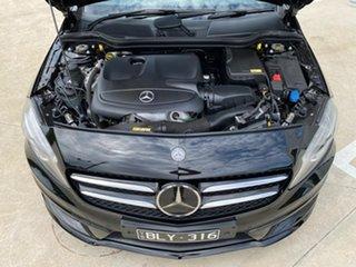 2013 Mercedes-Benz A-Class W176 A180 D-CT Black 7 Speed Sports Automatic Dual Clutch Hatchback