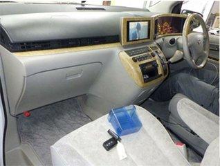 2002 Nissan Elgrand E51 VG White Automatic Wagon