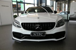 2019 Mercedes-Benz C-Class W205 809MY C63 AMG SPEEDSHIFT MCT S White 9 Speed Sports Automatic Sedan
