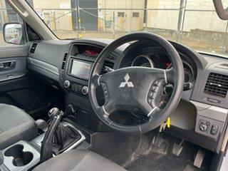 2009 Mitsubishi Pajero NS GLX LWB (4x4) Silver 5 Speed Manual Wagon