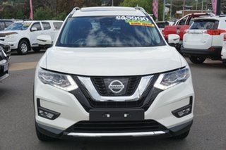 2020 Nissan X-Trail T32 Series III MY20 Ti X-tronic 4WD White 7 Speed Constant Variable Wagon.