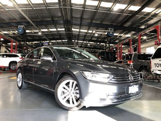 2016 Volkswagen Passat 3C MY17 140 TDI Highline Grey 6 Speed Direct Shift Sedan.