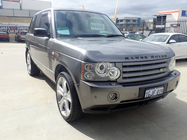 Used Land Rover Range Rover MY08 Vogue TDV8 Wangara, 2008 Land Rover Range Rover MY08 Vogue TDV8 Storm Grey 6 Speed Auto Sequential Wagon