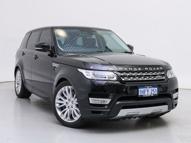 Used Land Rover Range Rover LW MY15.5 Sport 3.0 SDV6 HSE, 2015 Land Rover Range Rover LW MY15.5 Sport 3.0 SDV6 HSE Black 8 Speed Automatic Wagon