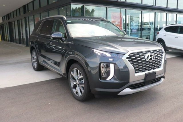 New Hyundai Palisade LX2.V1 MY21 Highlander AWD Springwood, 2021 Hyundai Palisade LX2.V1 MY21 Highlander AWD Steel Graphite 8 Speed Sports Automatic Wagon