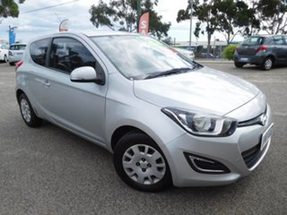 2012 Hyundai i20 PB MY13 Active Silver 6 Speed Manual Hatchback.