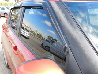 2009 Suzuki Swift RS415 GLX Orange 5 Speed Manual Hatchback