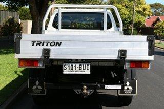 2017 Mitsubishi Triton MQ MY18 GLX 4x2 White 6 Speed Manual Cab Chassis