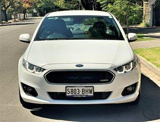 2015 Ford Falcon FG X XR6 White 6 Speed Sports Automatic Sedan.