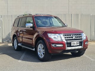 2018 Mitsubishi Pajero NX MY18 Exceed Terra Rossa 5 Speed Sports Automatic Wagon.