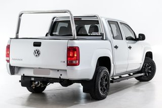 2016 Volkswagen Amarok 2H MY16 TDI340 4x2 Silver 6 Speed Manual Utility.