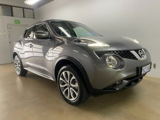 2015 Nissan Juke F15 ST (FWD) Grey Continuous Variable Wagon.