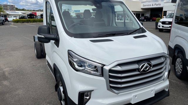 New LDV Deliver 9 MY21 Gladstone, 2021 LDV Deliver 9 MY21 Blanc White 6 Speed Automatic Cab Chassis