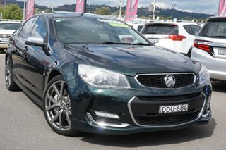 2013 Holden Commodore VF MY14 SS V Redline Green 6 Speed Sports Automatic Sedan.