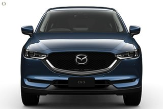 2021 Mazda CX-5 KF4WLA GT SKYACTIV-Drive i-ACTIV AWD Blue 6 Speed Sports Automatic Wagon.