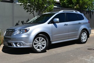 2013 Subaru Tribeca B9 MY13 R AWD Premium Pack Silver 5 Speed Sports Automatic Wagon.