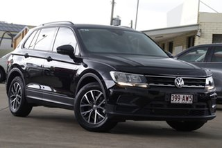 2017 Volkswagen Tiguan 5N MY18 110TSI DSG 2WD Trendline Black 6 Speed Sports Automatic Dual Clutch.