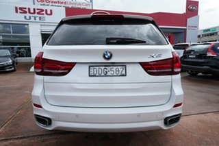 2016 BMW X5 F15 MY15 xDrive 40D White 8 Speed Automatic Wagon