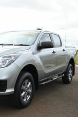 2020 Mazda BT-50 XT (4x4) (5Yr) Silver 6 Speed Manual Dual Cab Chassis