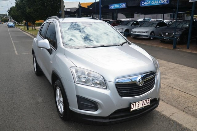 Used Holden Trax TJ LS Toowoomba, 2014 Holden Trax TJ LS Silver 6 Speed Automatic Wagon