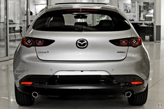 2021 Mazda 3 BP2HLA G25 SKYACTIV-Drive Astina Silver 6 Speed Sports Automatic Hatchback.