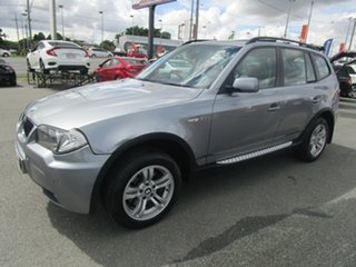 2005 BMW X3 E83 MY06 Steptronic Grey 5 Speed Sports Automatic Wagon.