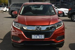 2019 Honda HR-V MY19 VTi Red 1 Speed Constant Variable Hatchback.